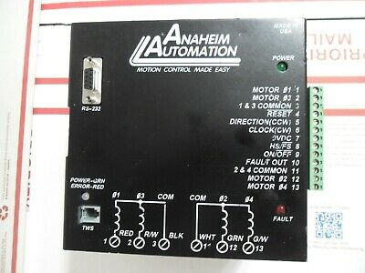 Anaheim Automation Dpd75601 Single-axis 7a Step Motor Driver