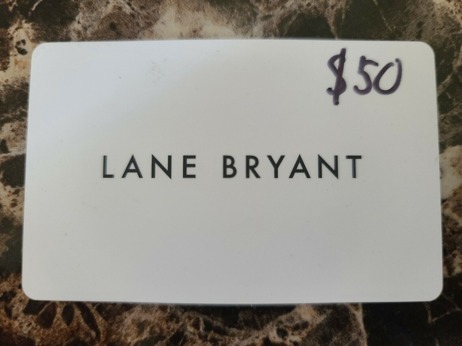 Lane Bryant 50 Gift Card Unused Purchased From Amazon - $31.00