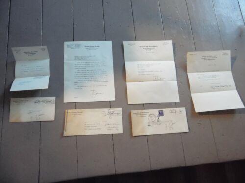 Lot of 4 Signed 3 HOUSE OF REPRESENTATIVE LETTERS, 1 US SENATE, w/3 Envelopes