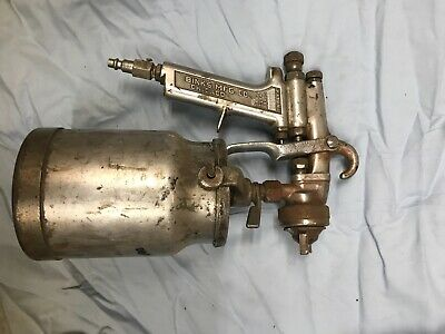 Binks Model 7 Paint Spray Gun W Cup - Parts