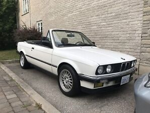 1987 Bmw 325i Eurospec convertible