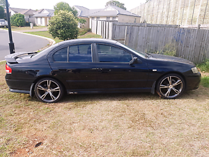 2003 Ford XR6 with FGX XR8 wheels Griffin Pine Rivers Area Preview