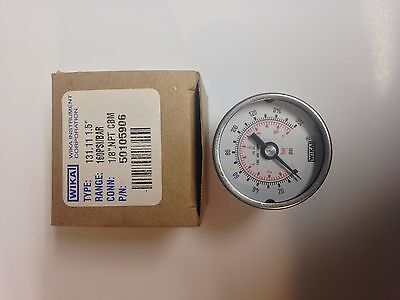Pressure Gauge 1.5 Stainless Steel 0-160