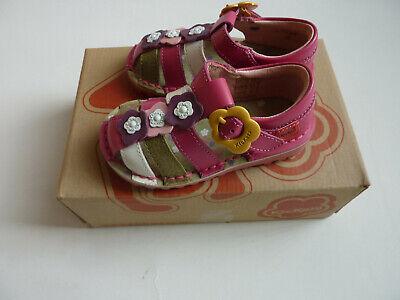 Girls Kickers  Leather Sandals Size UK 5 EU 22 NEW