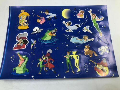 Vintage Disney Peter Pan Sticker Sheet