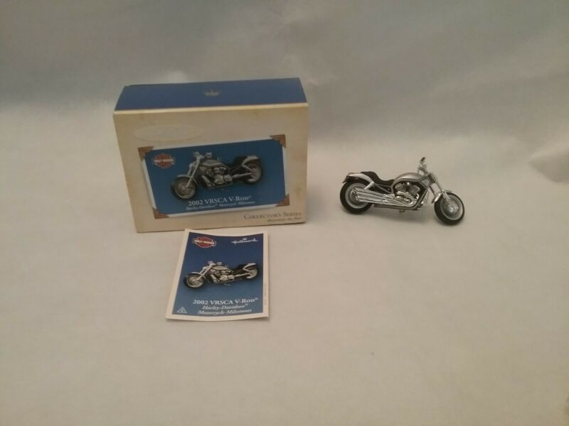 2004 HALLMARK KEEPSAKE 2002 VRSCA V-ROD ORNAMENT COLLECTORS SERIES