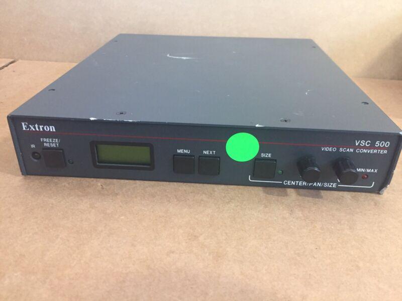 Extron VSC 500 Video Scan Converter - w/ Power Cord