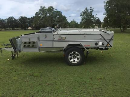 2009 Aussie Swag Rover LX camper trailer