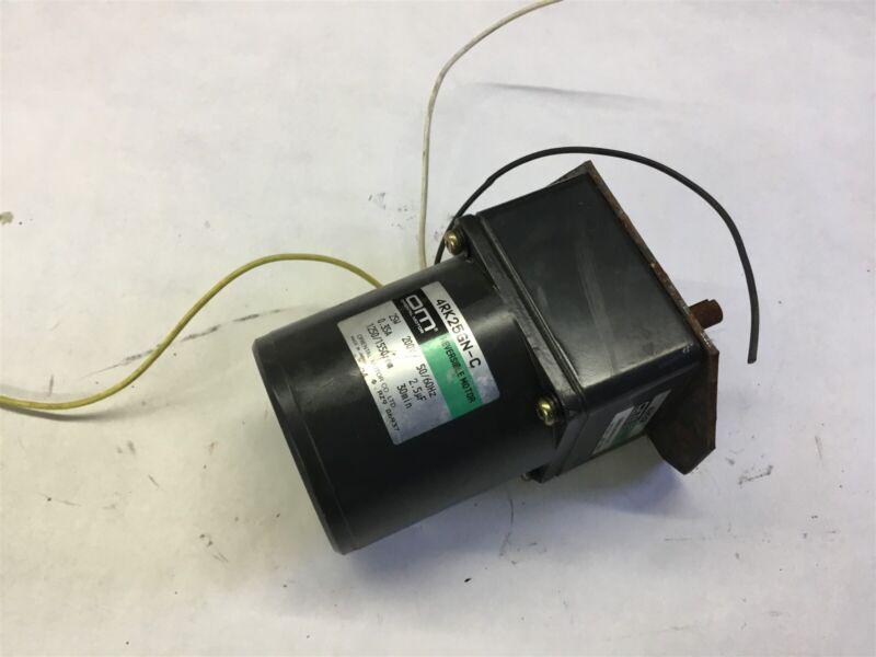 Oriental Motor 4Rk25Gn-C 25 Watt, 0.35A 1250/1550 Rpm, 200 Volts