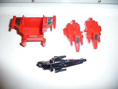 Transformers Takara G1 vintage Japan 90's Sixwing Micromaster parts lot