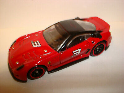 Hot Wheels SPEED MACHINES FERRARI 599XX (RED) loose