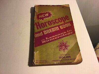 Vintage Zolar's  New Horoscope and Dream Book PB 1965