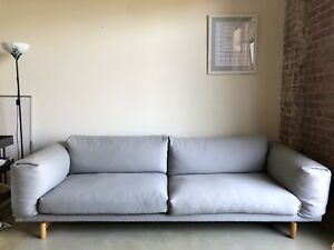 Muuto Rest Sofa : Compose series ease out in this roomy yet refined sofa