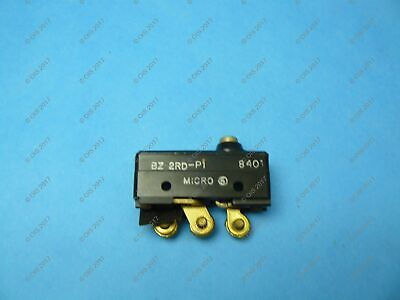 Micro Switch Bz-2rd-p1 Limit Switch Top Plunger Spdt 15 Amp 250 Vac Nnb