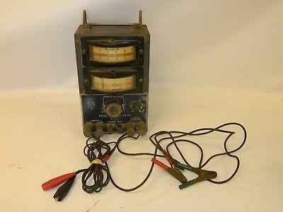 Vintage Electric Auto-lite Company Volt Meter Ammeter Multimeter Tester St-232a