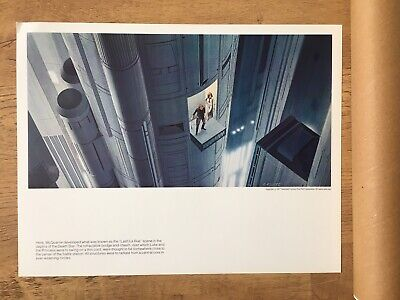 Vintage Star Wars Portfolio Ralph McQuarrie Paintings Prints 1977 Concept Art