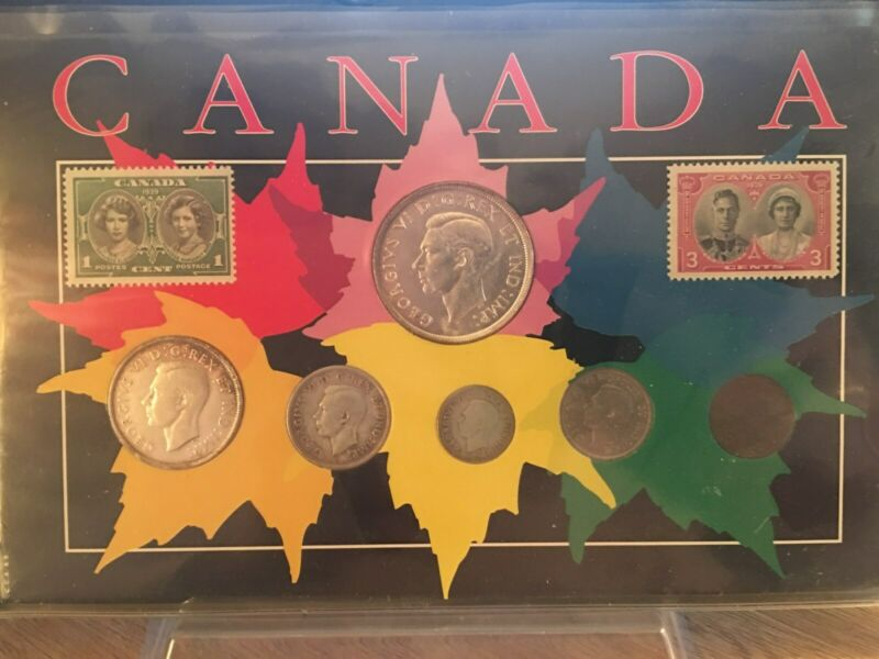 GORGEOUS 1939  CANADA COIN - SET IS REALLY NICE!!  LOWEST PRICE ON EBAY