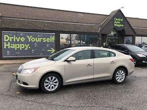 2010 Buick LaCrosse CX / heated seats / heated mirrors 17 alloys