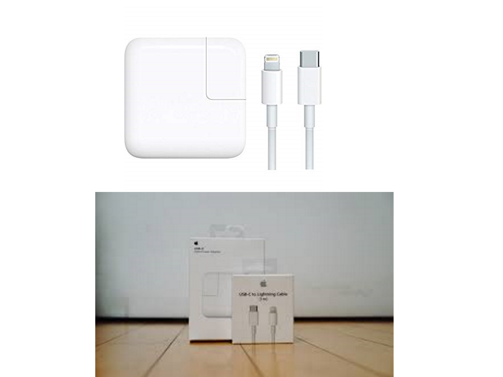 Apple MacBook 29W USB-C Power Adapter/Charger with USB-C to