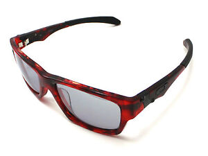 Oakley Jupiter Squared LX Asian Fit Sunglasses Red Tortoise Frame Slate Lens