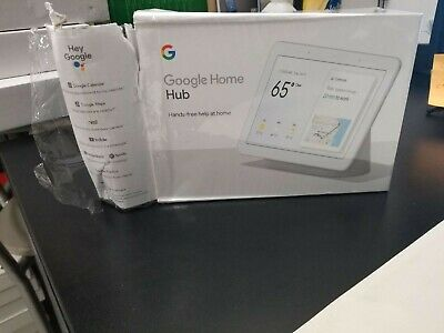 Google Chalk Home Hub – (White) DAMAGED BOX