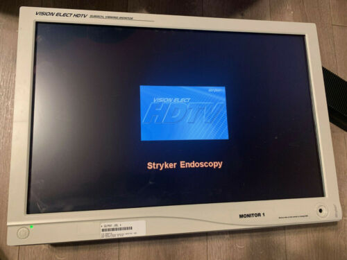 """Stryker Vision Elect HD 26"""" 240-030-960 Surgical Viewing Monitor w/Power Adapter"""