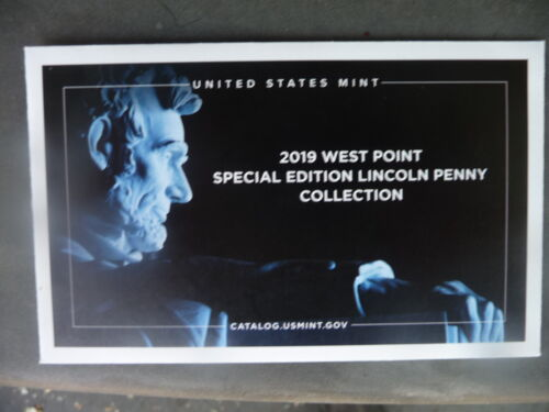 2019 w reverse proof Lincoln cent in original mint packaging