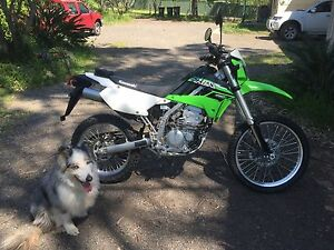 2015 model Kawasaki KLX250 with NSW REGO Cooranbong Lake Macquarie Area Preview