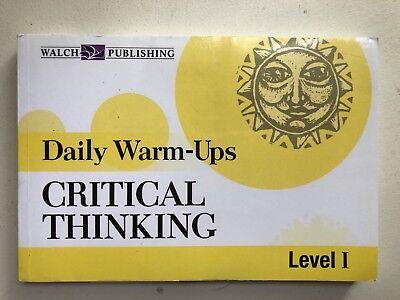 Critical Thinking Daily Warm Ups Level 1 (Daily Warm Ups)