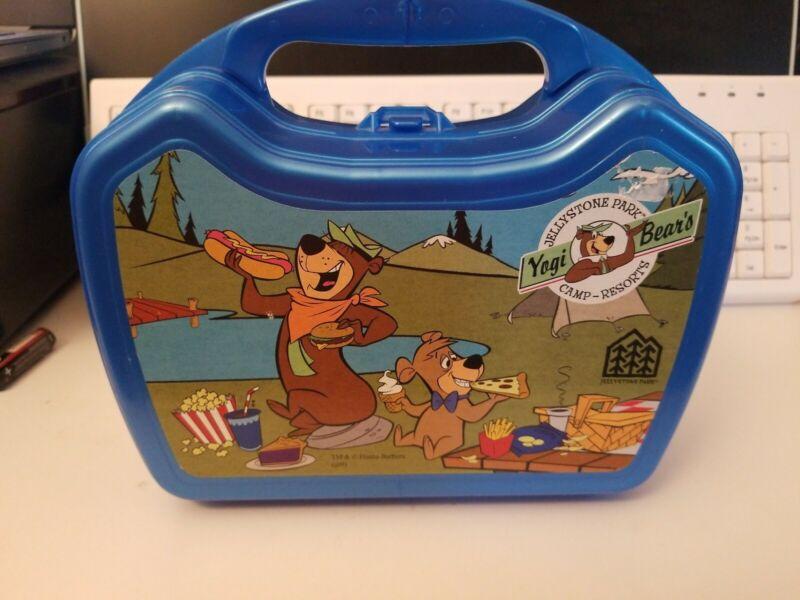 Vintage Yogi Bear Hanna-Barbera Lunch Box. Very Clean. Fast Shipping!!!!!!!