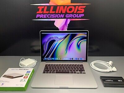 Apple MacBook Pro 15 RETINA CORE i7 ⋆ 3 YR WARRANTY ⋆ 1TB SSD 16GB RAM ⋆OS-2015