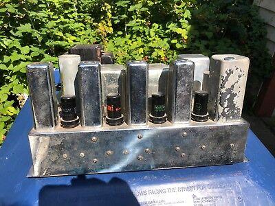 Antique Scott 800B Amplifier 6L6 Original for rebuild Most Tubes Included