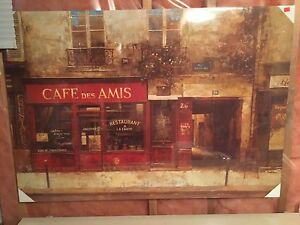 Cafe painting