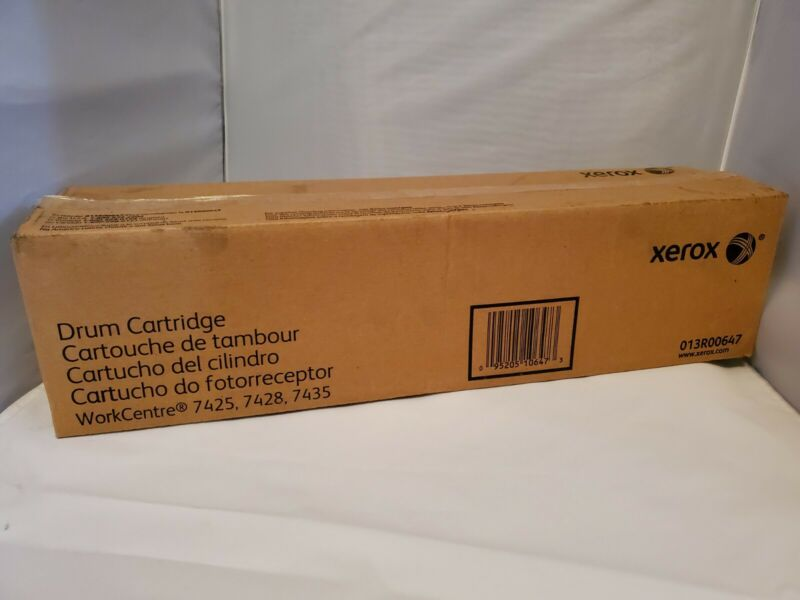 GENUINE XEROX DRUM CARTRIDGE 013R00647 NEW SEALED SEE PHOTOS FREE SHIPPING!