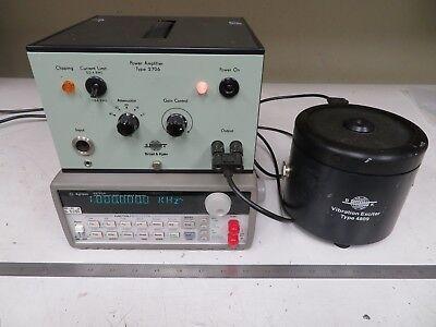 Bruel Kjaer 4809 Vibration Exciter W 2706 Power Amplifier Accelerometer