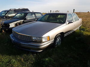 PARTING OUT / WRECKING: CADILLAC DEVILLE CONCOURS