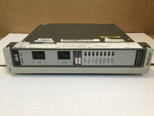 AEG MODICON PC-E984-485 PROGRAMMABLE CONTROLLER MODULE CPU
