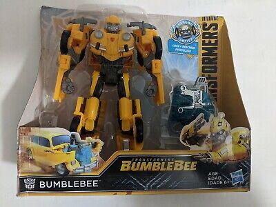 Transformers bumblebee nitro  series damage box new