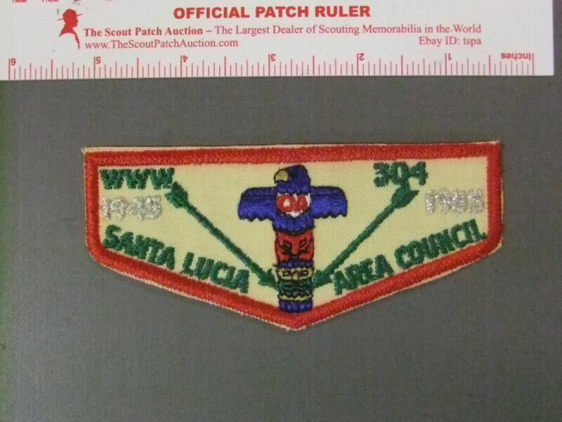 Boy Scout OA 304 Chumash flap 7689JJ