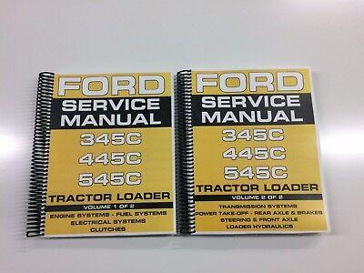 Ford 545c Tractor Loader Service Manual Technical Manual Repair Manual