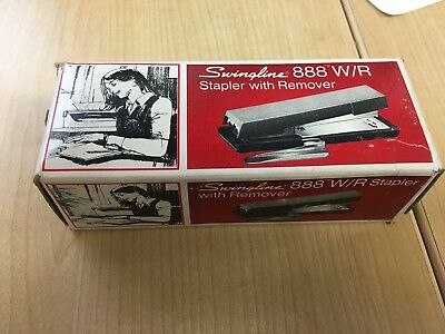 Vintage Swingline 888 Wr Stapler New Old Stock In Box