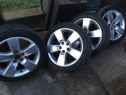 Ford wheels rims AU BA BF FG XR6 XR8 wheels  Penrith Penrith Area Preview