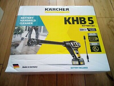 Karcher KHB 5 Multi Jet 18V Li-ion Battery Handheld Cleaner Set 1.328-103.0