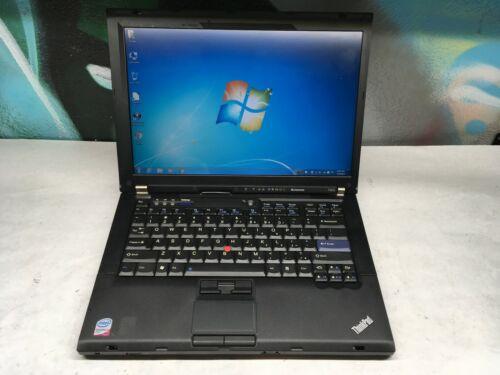 Lenovo ThinkPad T400 Laptop / 4GB / 2.26GHZ / 160GB / Windows 7 / Battery & AC
