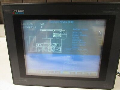 Proface Gp570-sc31-24v Graphic Panel Color 12  Good Takeout Make Offer