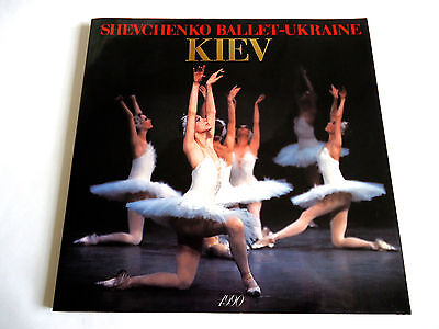 SHEVCHENKO BALLET UKRAINE KIEV 1990 JAPAN SOUVENIR PROGRAM BOOK