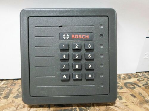 HID Proxpro Access Control System Unit W/Keypad Black 5355AGK09