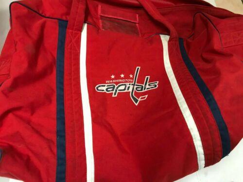 Washington Capitals Game Used Players Equipment Bag
