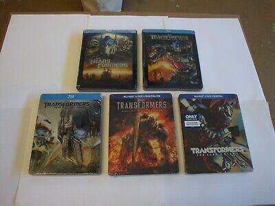 Transformers Collection 1-5  *Steelbook* Brand New  (Blu-Ray Discs )*DIGITALS EX