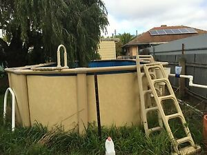 Above ground pool Croydon Park Port Adelaide Area Preview